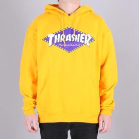 Thrasher - Thrasher Diamond Logo Hood Sweatshirt