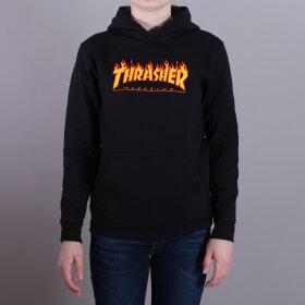 Thrasher - Thrasher Youth Flame Hood Sweatshirt